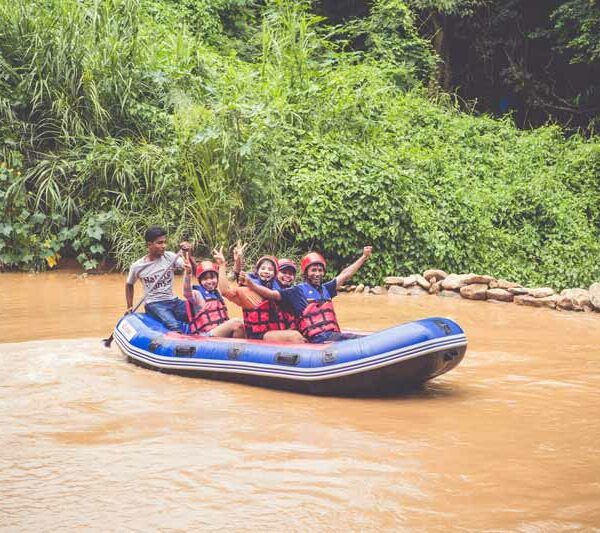 Team Ausflug nach Saraburi