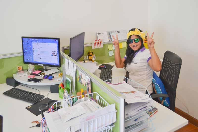 Unser Büro Sri Siam Holidays