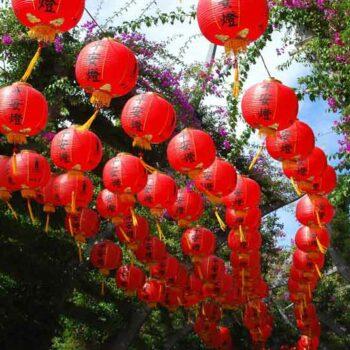 Chinese New Year Lampions in Bangkok