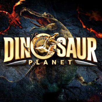 Das offizielle Logo vom Dinosaur Planet in Bangkok