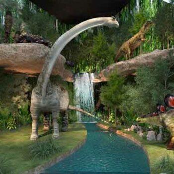 Ein Einblick in den Dinosaur Planet Bangkok