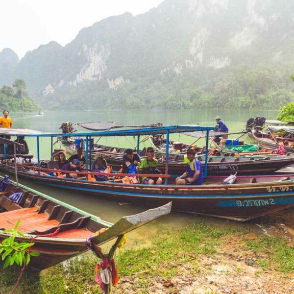 Team Ausflug in den Khao Sok National Park
