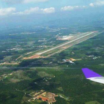Der Flughafen von Krabi, Andamanensee Inselhopping