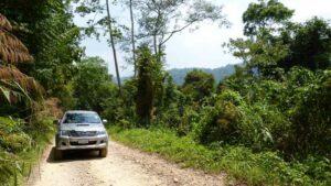 Das Fahrzeug mit dem Sie auf Safari durch den Kaeng Krachan Park gehen