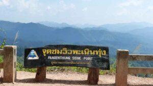 Ausschtspunkt im Kaeng Krachan Park mit herrlichem Blick über die Umgebung