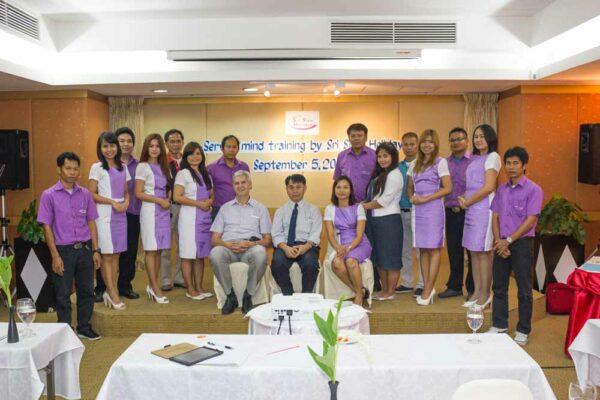 Sri siam Service Mind Training 2013