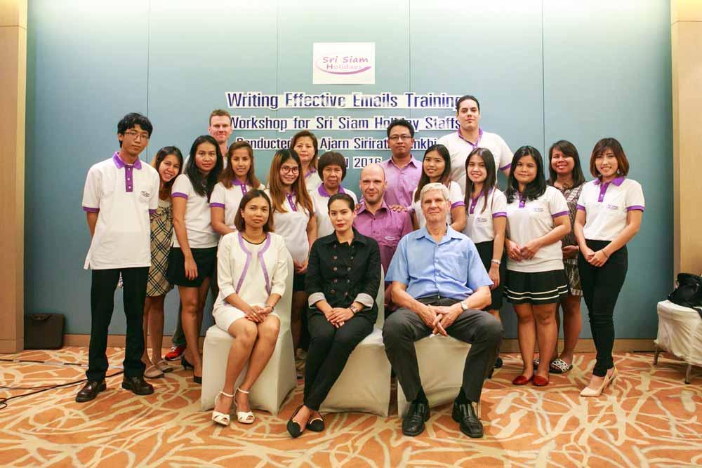Sri Siam Email Training 2016
