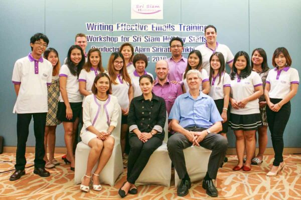 Das Team von Sri Siam Holidays, Ihren Reiseveranstalter in Thailand