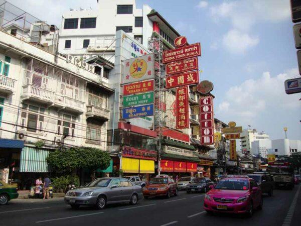 Der Bezirk Chinatown in Bangkok ist bei vielen Bangkok Touristen beliebt und auf jeden Fall einen Ausflug wert