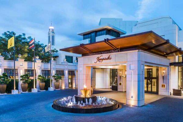 Das Siam Kempinski Hotel in Bangkok befindet sich direkt hinter der Siam Paragon Mall und ist sehr zentral gelegen. Ein ideales Hotel für einen Urlaub in Bangkok