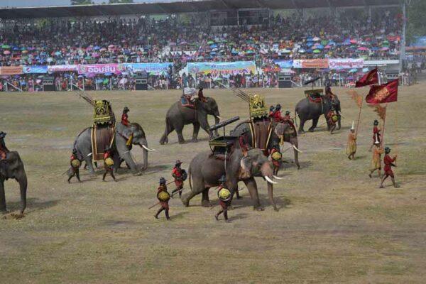 Elefantenfest Surin
