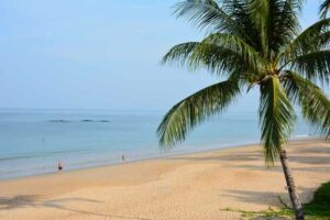 Der Nang Thong Sunset Beach in Khao Lak