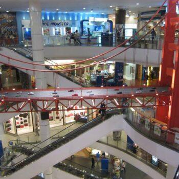 Terminal 21 von Innen, das Shopping Center ist an der BTS Station Asok gelegen, Bangkok, Thailand