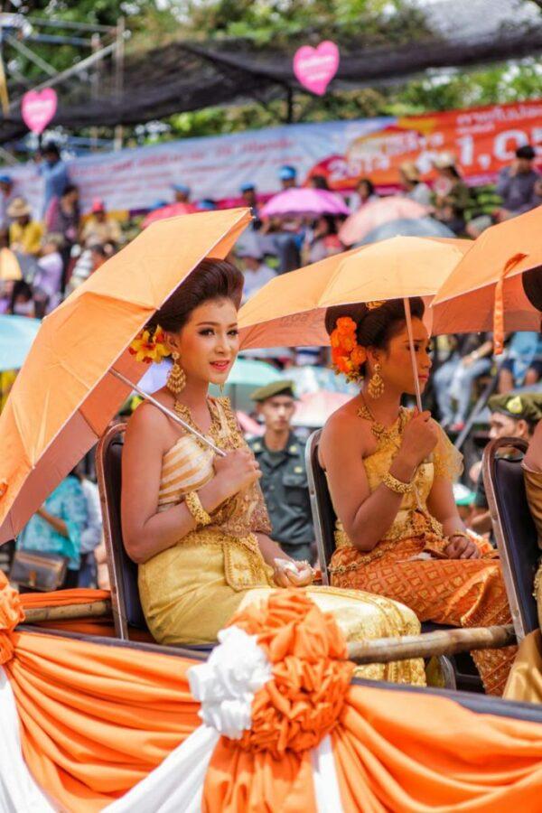 Impressionen vom Krezenfestival in Ubon Ratchathani