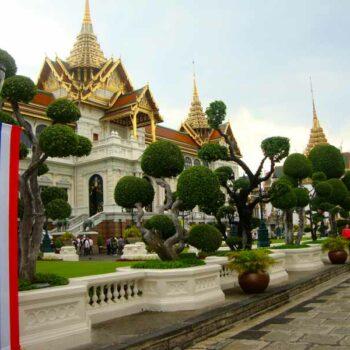 Der ehemalige Sitz des Königshaus und der Regierung