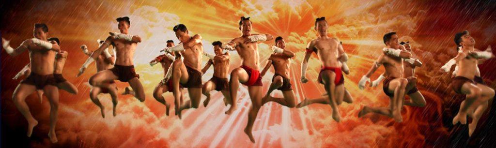 Die Muay Thai Show im Asiatique Riverfront Theater