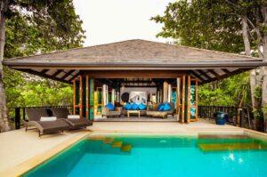 Die Pool Villa der Koh Jum Villas, sind ein idealer Stop bei einem Inselhopping