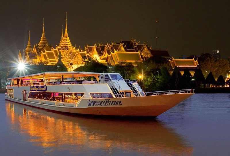 Dinner Cruise Bangkok  – Ein Reiseblog von Andreas Sprengart