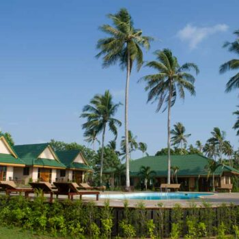 Ein Hotel auf der Insel Koh Sukorn, ein perfekter Ort fürs Inselhopping