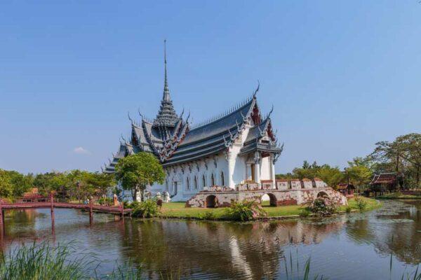 Ancient city in der Nähe von Bangkok. Uner Reiseblog über Ancient city von Andreas Sprengart