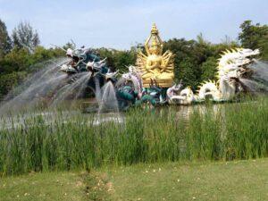 Das Ancient City Freilichtmuseum in der Nähe von Bangkok