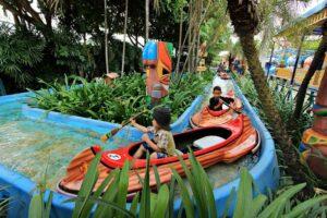 Ein Bild aus Dream World Freizeitpark. Ein idealer Ort für Familien in Bangkok.