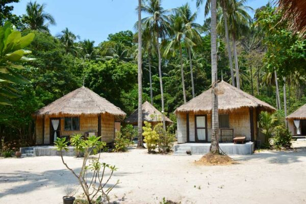 Das Mayalay Resort auf Koh Hai. Hier empfehlen wir die Sea Maya Coattages
