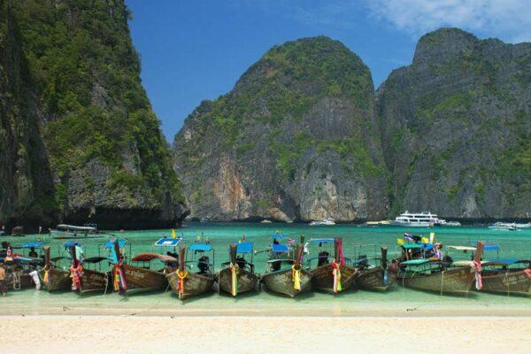 Maya Bay Koh Phi Phi Inselhopping Thailand