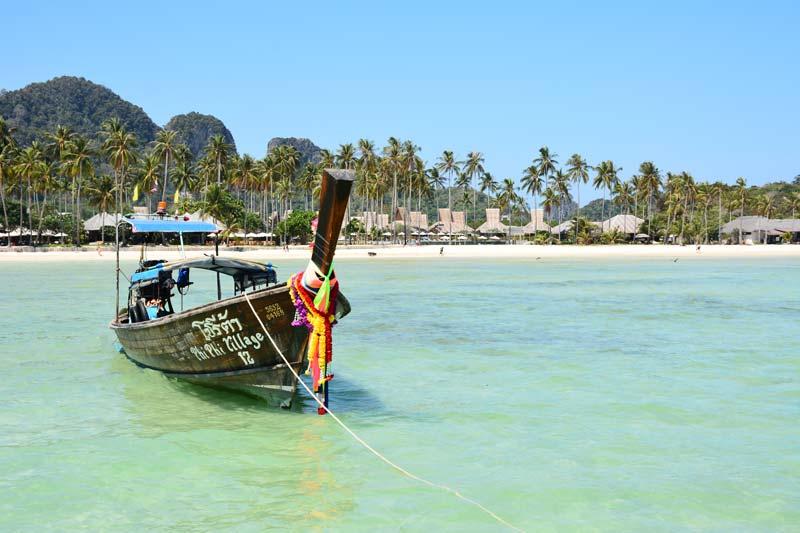Koh Phi Phi Longtailboot
