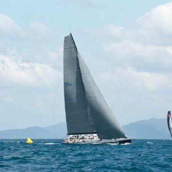 Segelboot der Phuket regatta