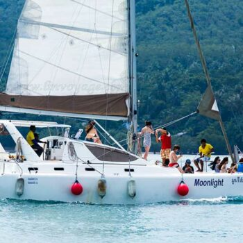Teilnehmer der Phuket regatta