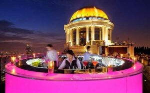 Skybars Bangkok Sky Bar at Lebua Hotel Tower