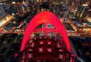 Skybars BangkokRed Sky Bar at Central World im Centara Grand