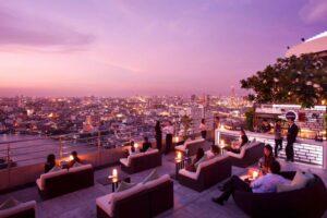 Skybars Bangkok three sixty millenium hilton bangkok