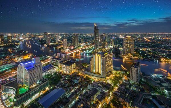 Rofftop Bar Skybar Bangkok