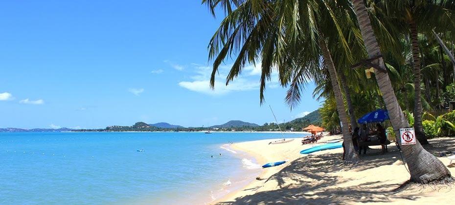 Maenam Beach, Koh Samui, Thailand