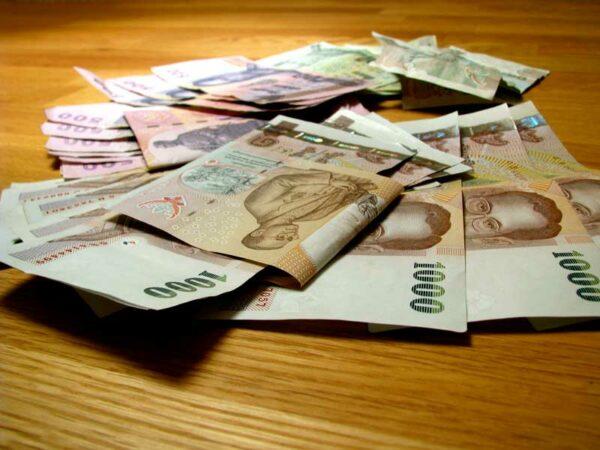 Geld abheben in Thailand