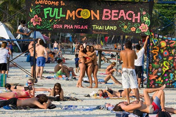 fullmoon party koh phangan thailand