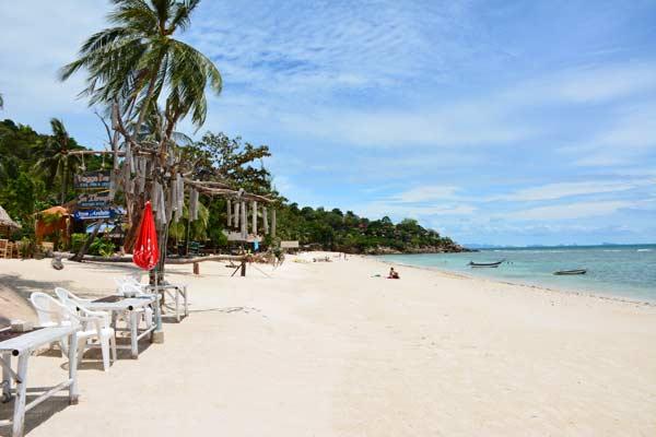 koh phangan, haad yao beach, strand, thailand, inselhopping, reiseblog