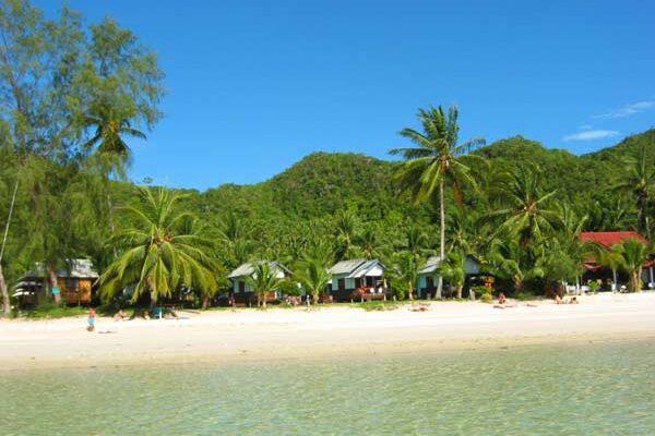 bungalows strand koh phangan, beach koh phangan, reiseblog, inselhopping