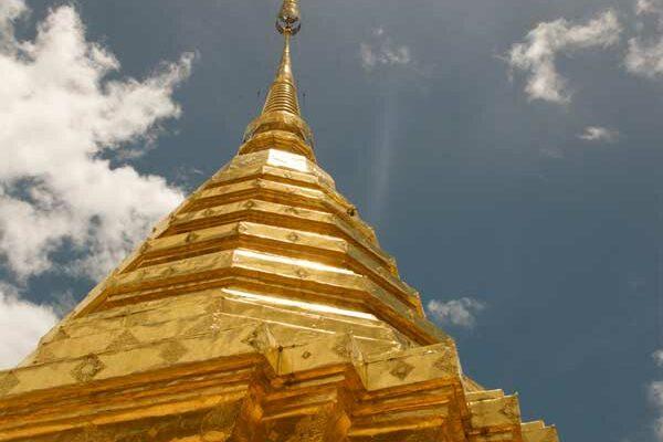 Chiang Mai Chedi Wat Doi Suthep