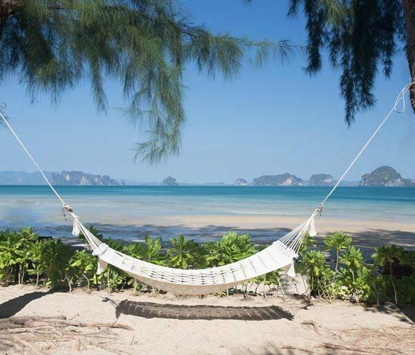 tupkaek sunset beach resort, badeurlaub krabi