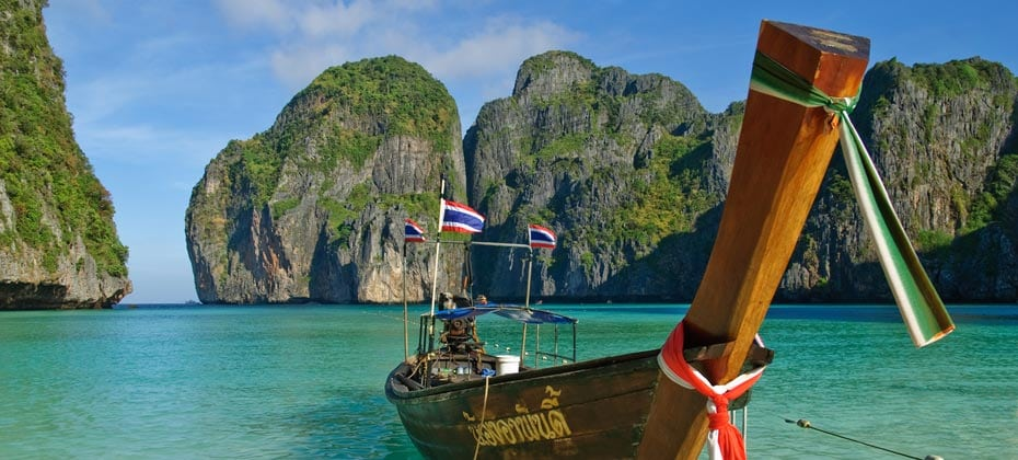 Maya Bay Phi Phi Island, Phi Phi Leh, Krabi Provinz