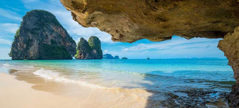 Phra Nang Beach, Railay, Krabi, Thailand