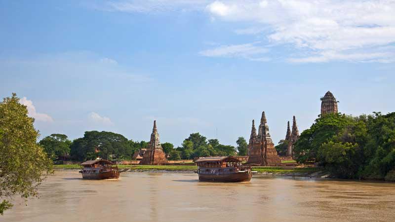 Mekhala River Cruise von Bangkok Richtung Ayuthaya