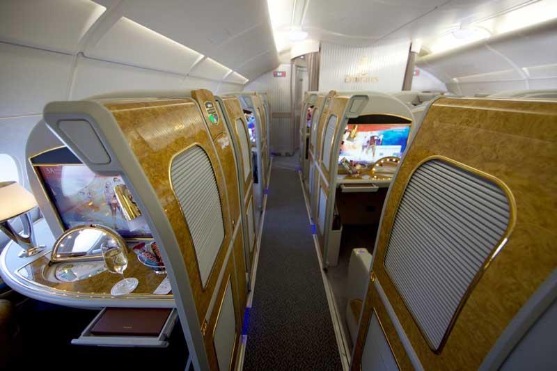Emirates, First Class