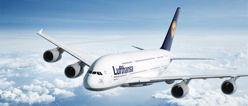 Der A380 der Lufthansa