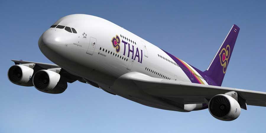 Mit der Thai Airways kommt man bequem von Deutschland direkt nach Bangkok.