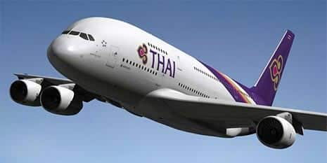 Thai Airways, Bangkok, Thailand