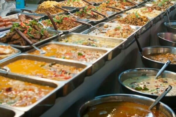 Vielfallt thailändische Küche